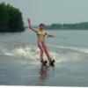 Вейк, водные лыжи обучение